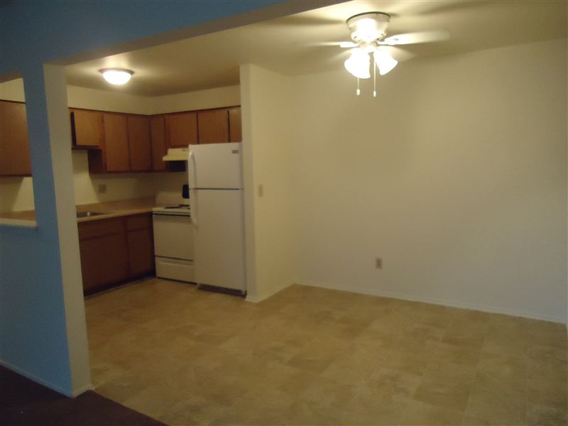 Two Bedroom Kitchen & Dining Area
