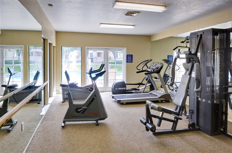 Save time and money with our on-site fitness center.