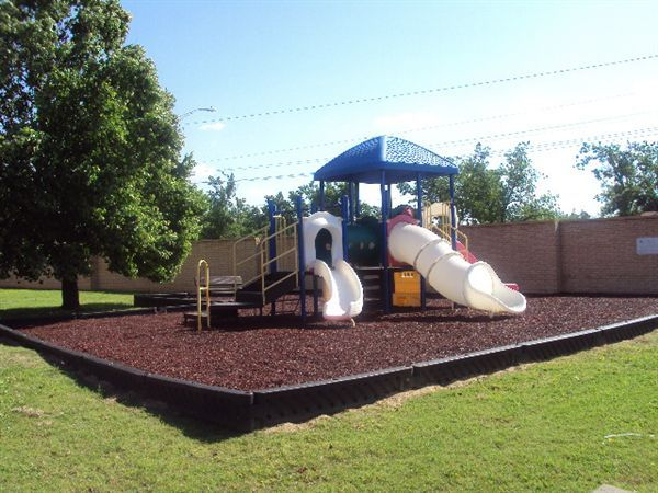 Your children will love the slides a tour playground.