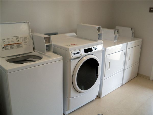Three Laundry Centers