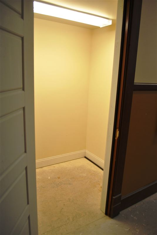 private storage space reserved for residents