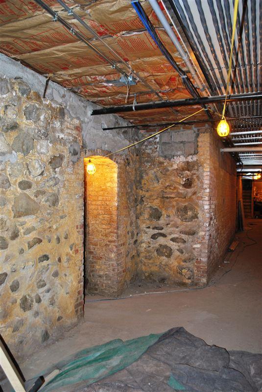 foundation under the school