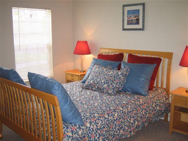 Huge bedroom with it's own bath room!