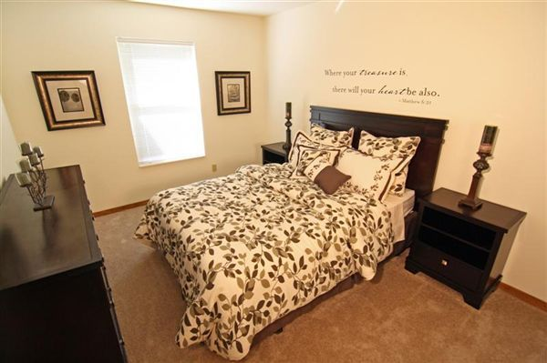 Large bedroom with walk in closet