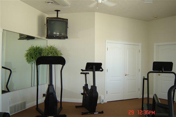 Treadmill, bike or stair stepper