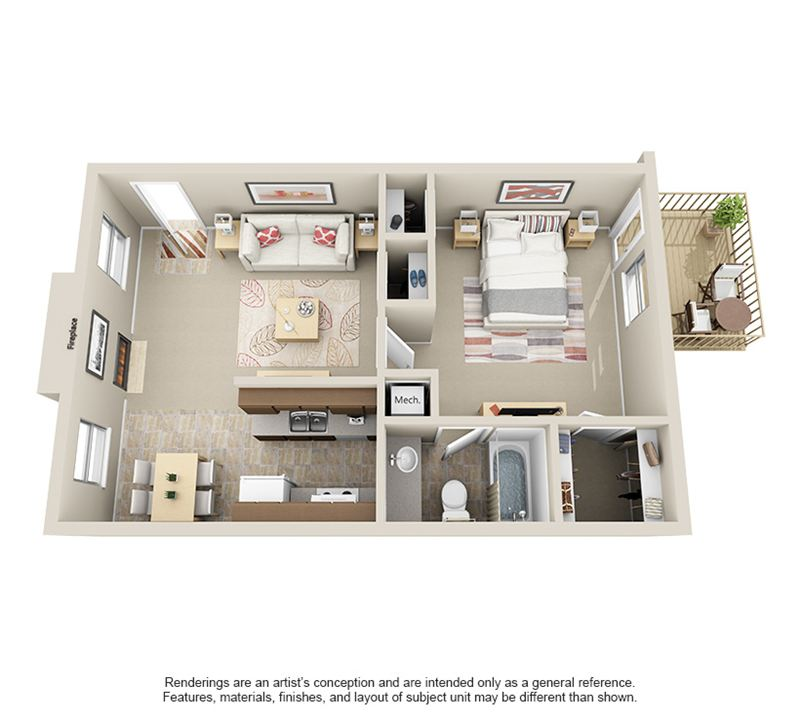 Sheridan Square_1Bed1Bath - 3D for Web