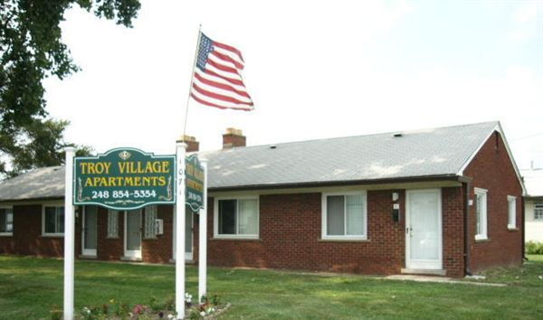 Troy Village Apartments 2 br