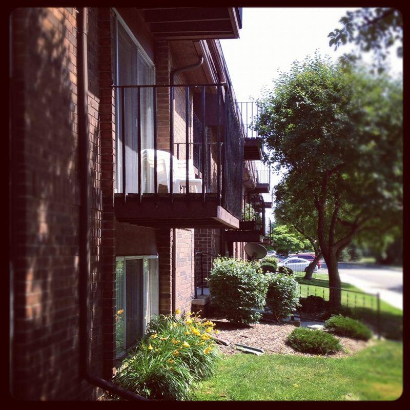 Exterior of Building-Balconies
