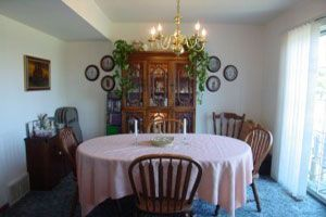 3 bdr. Dining room