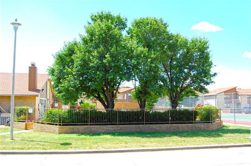 Enjoy the lush landscape of Sheridan Square.