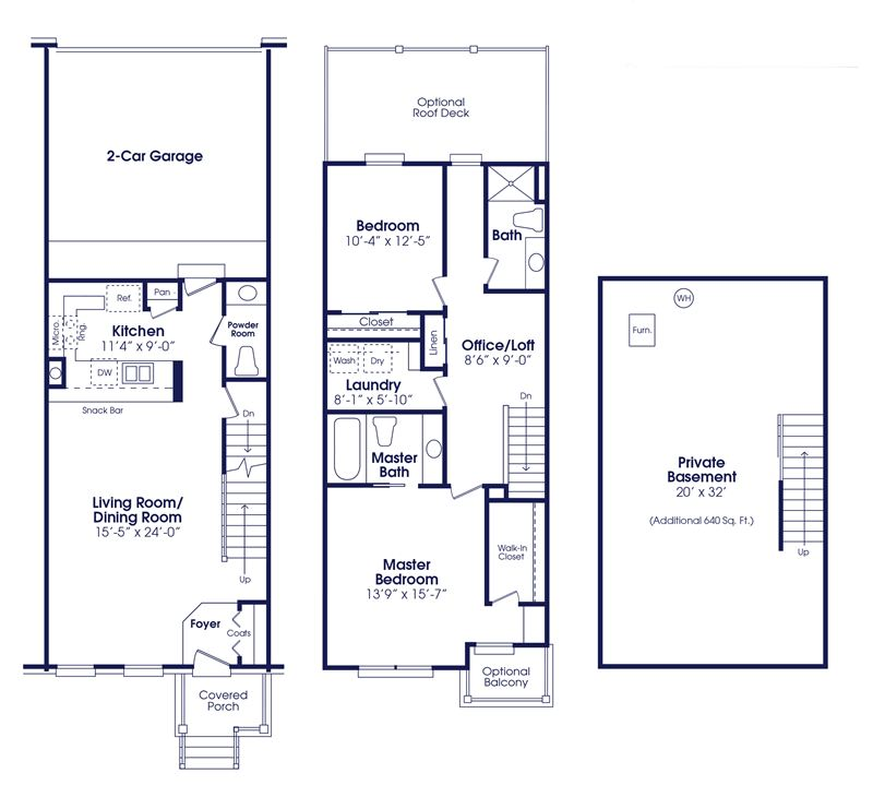 The Ellsworth Floor Plan