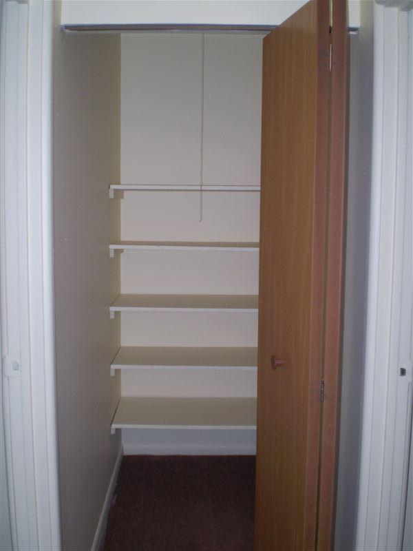 Abundant Closet and Storage Space