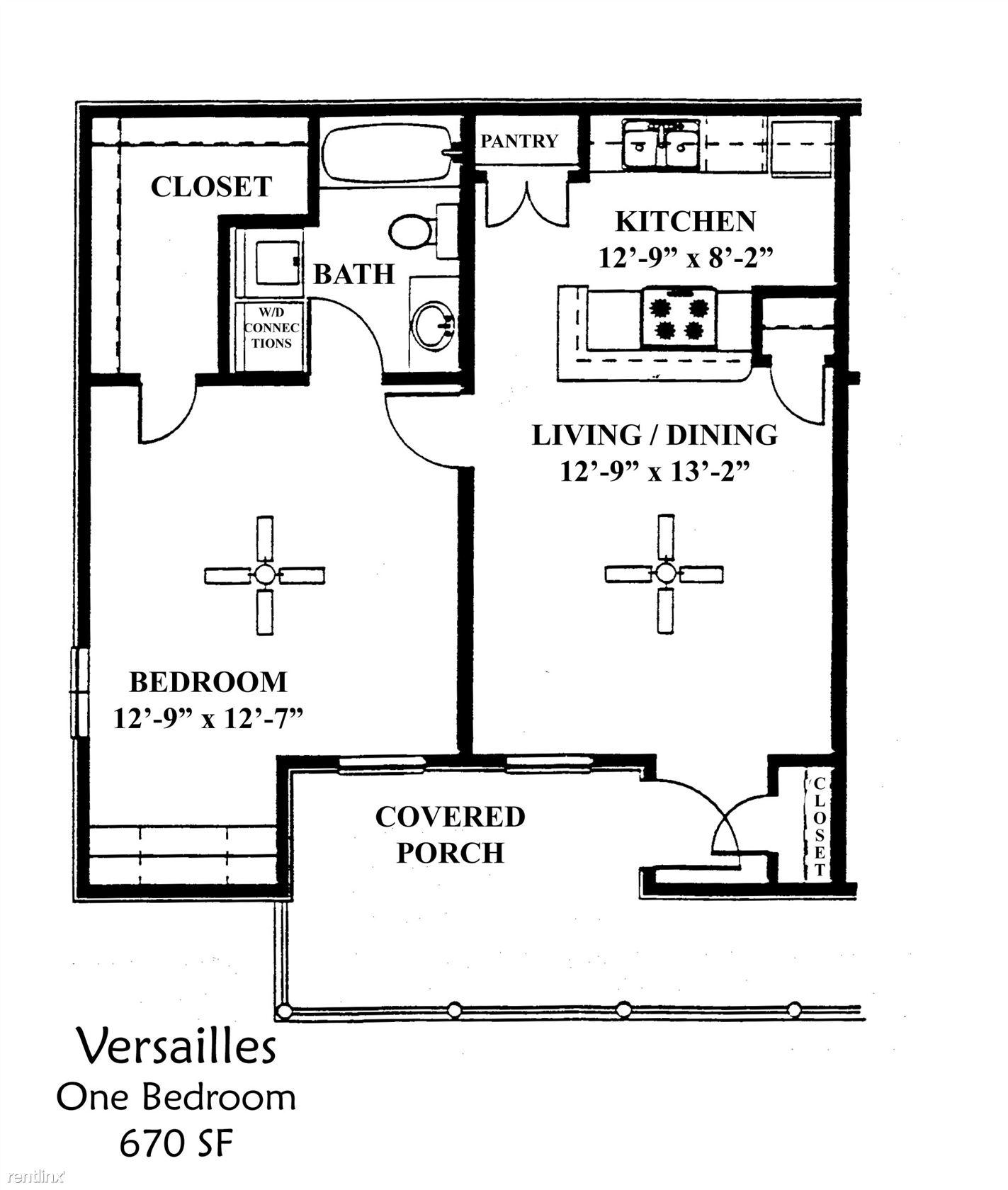 Versailles Apartments: Versailles Apartments, Denton