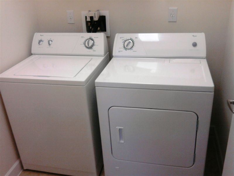 Full Size Laundry Inside Apartment
