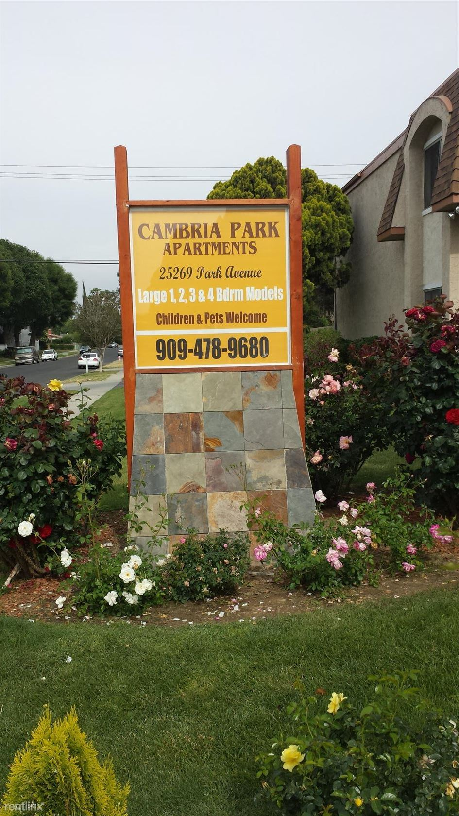 $985 - $1495 per month , 25284 Cottage Ave, Cambria Park Apartments