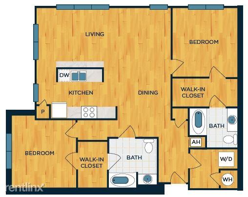 Luxury 2 Bedroom 2 Bathroom Apartment Located in Dobbs Ferry