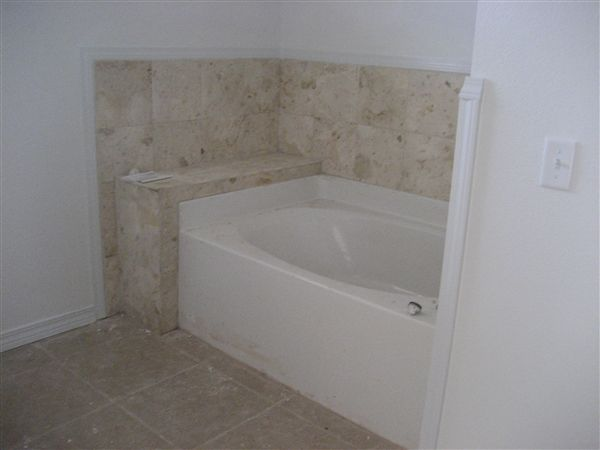 Marble Garden Tub in Townhome