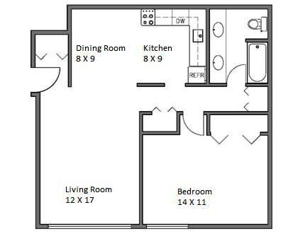 Whitehall 1 Bedroom