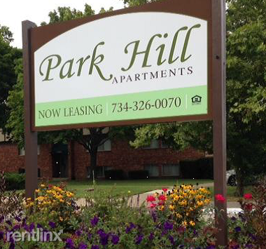 Park Hill Sign