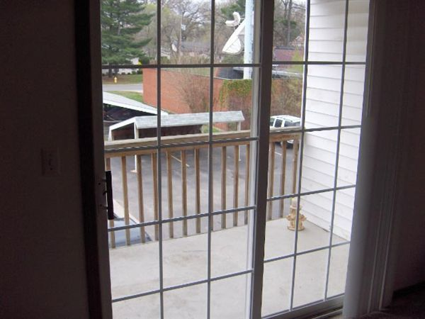 View of front via doorwall on deck HPIM0702