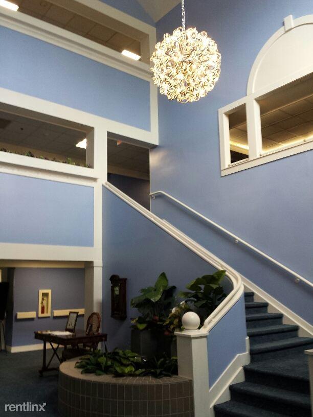 Elegant 3 story lobby