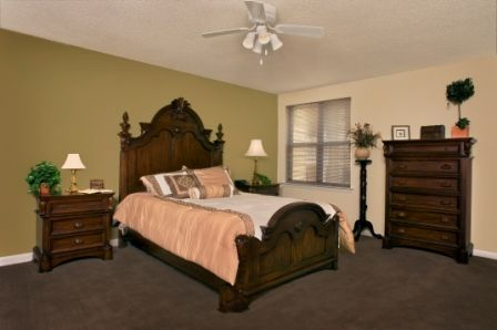 Expansive Bedrooms