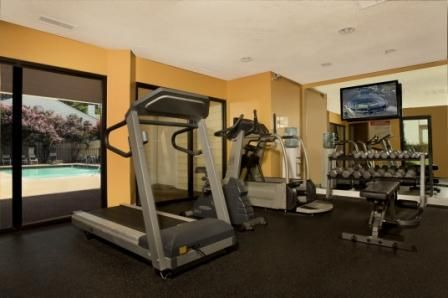 Fitness and Cardio overlooking the Pool