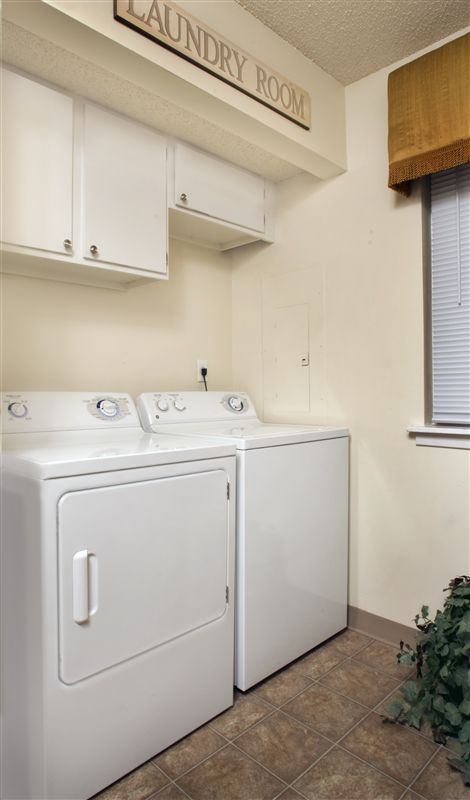 Washer & Dryer hookups in every home