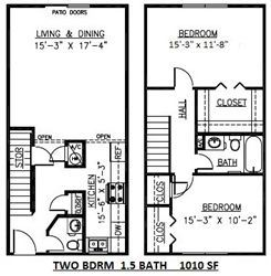 townhousefloorplan