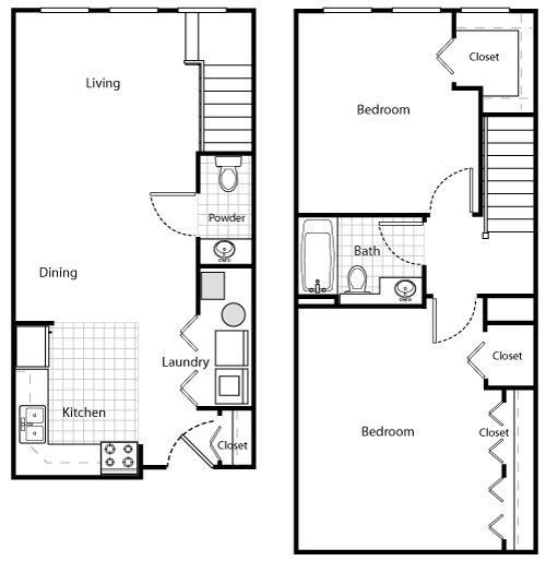 The City Loft Floor Plan