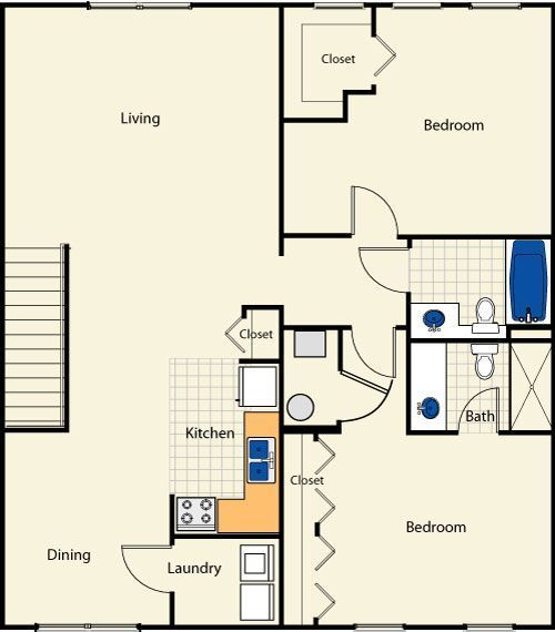 The Embassy Floor Plan