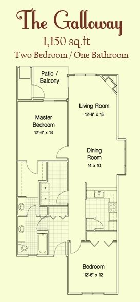 The Galloway Floorplan