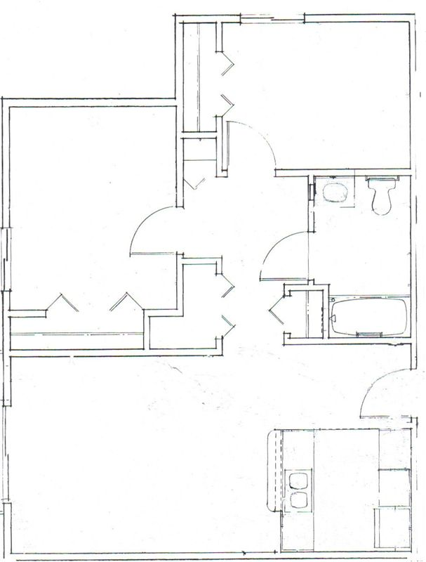 Floor Plan - 2 Bedroom