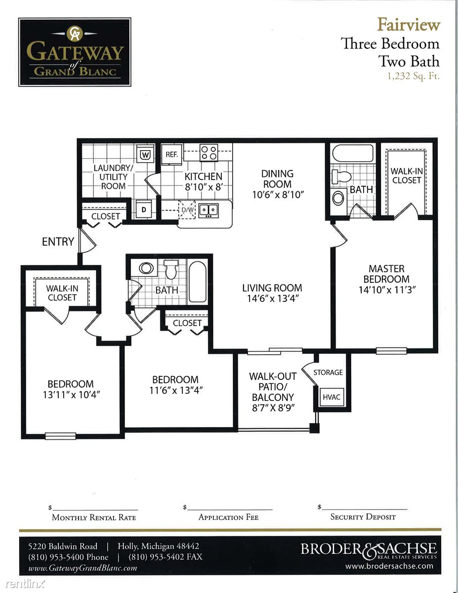 fairview floor plan