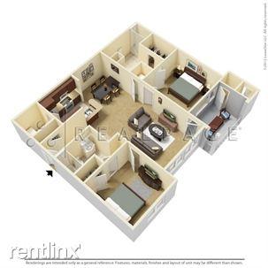 Two Bedroom Floor-plan