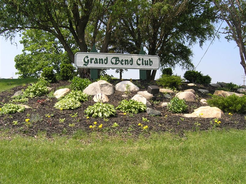 Grand Bend sign
