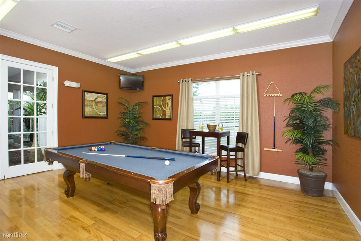 Audubon Oaks Billiard Room