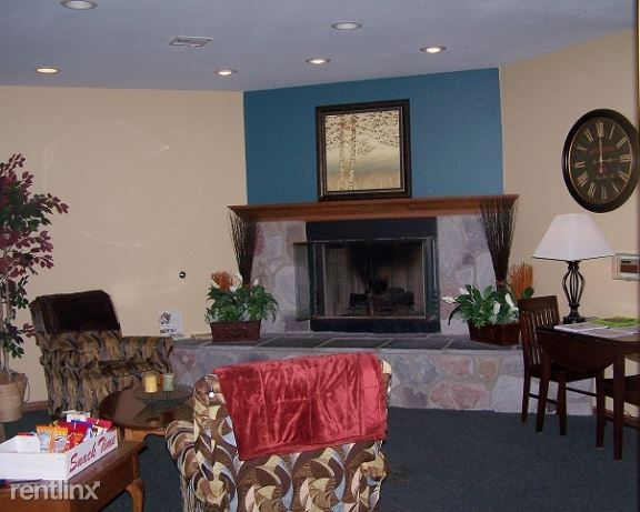 Community Room Fireplace