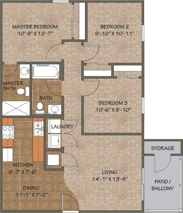 Rockwood Park Apartments: Hilltop Apartments, Rockwood Condominiums, Farmington