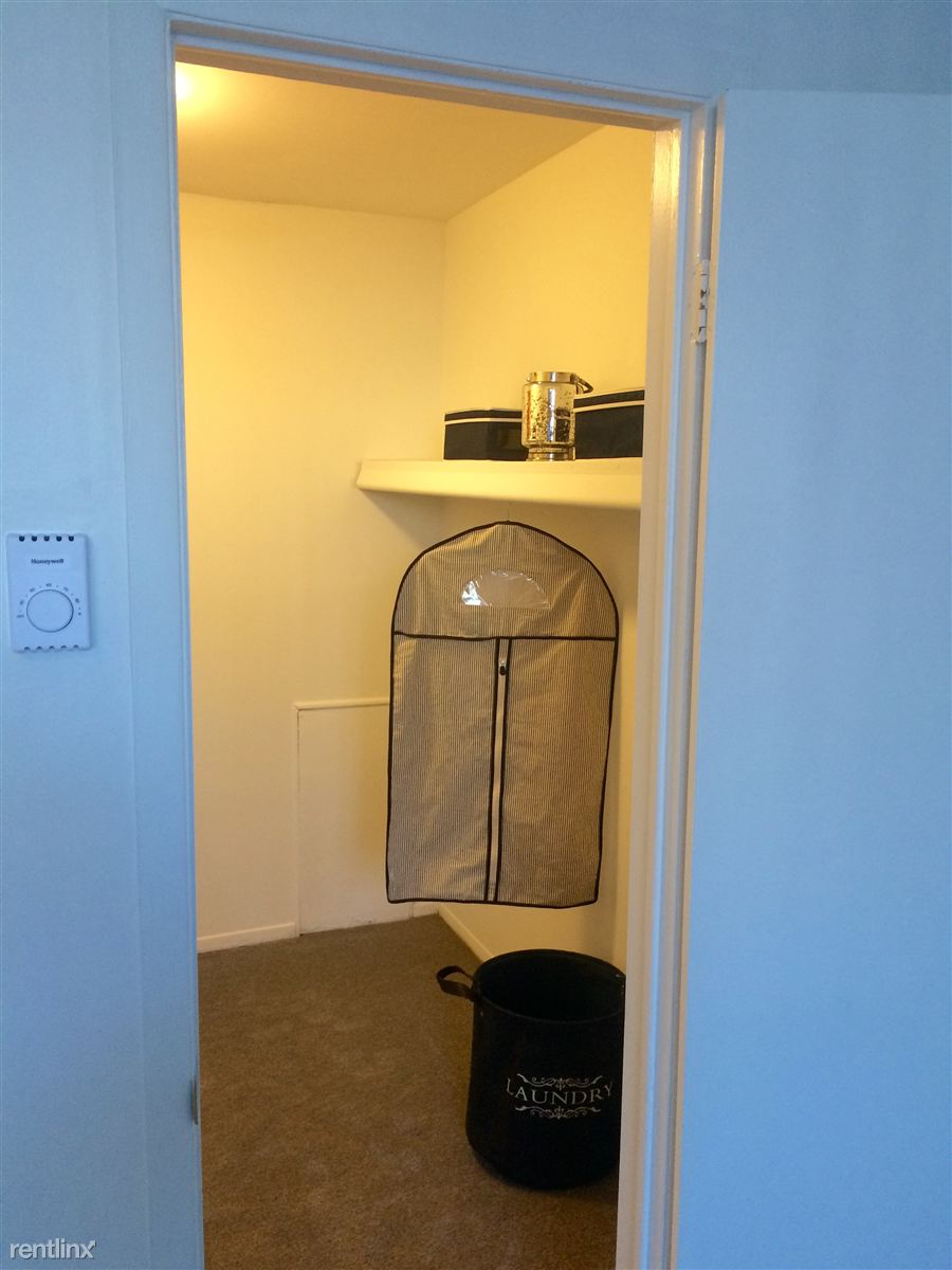 Huge walk in closet in master bedroom