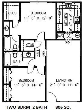 ANDREW TWO BEDROOM
