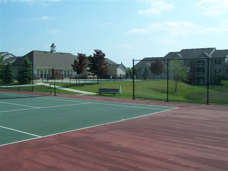 Tennis Court & Clubhouse