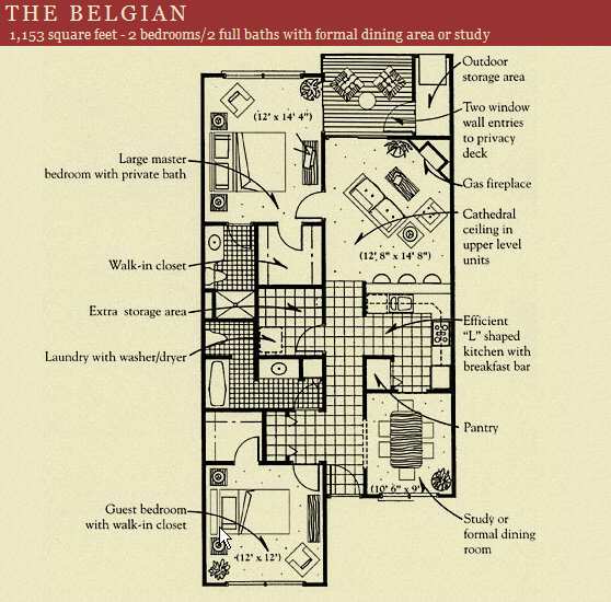 Belgian Floor Plan