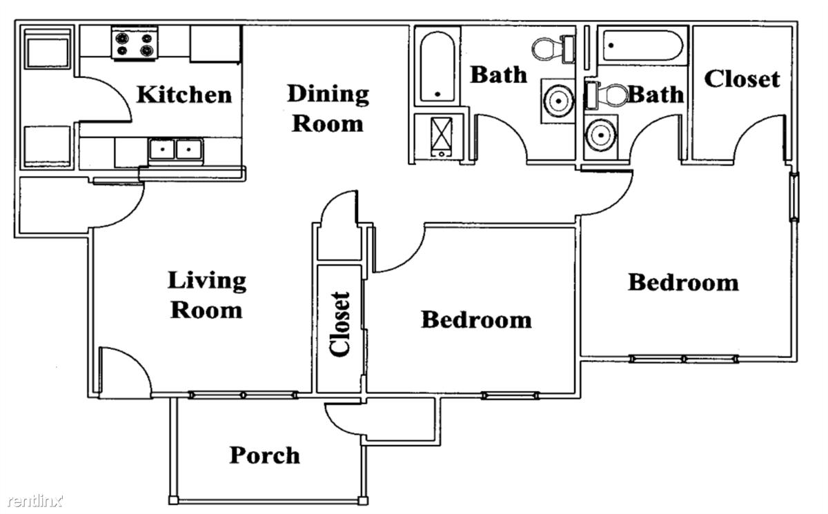 Broadstone Villas Bel Aire Kansas 2 Bed 2 Bath Floor Plan