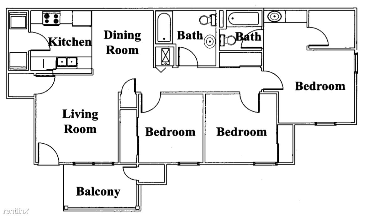 Broadstone Villas Bel Aire Kansas 3 Bed 2 Bath Floor Plan