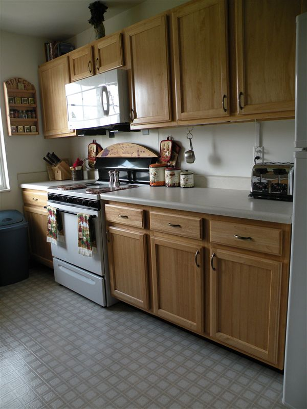 Spacious Kitchen with lots of storage space and lot of natural light!