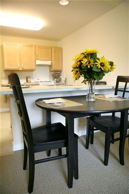 Heron Manor Model Unit - Dining Area