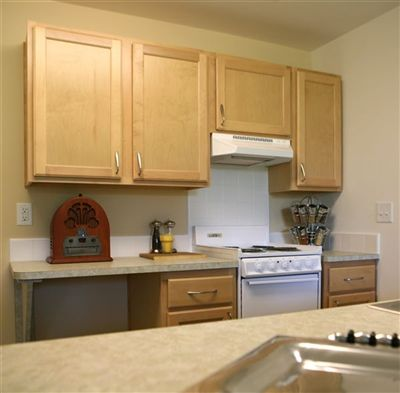 Heron Manor Model Unit - Kitchen