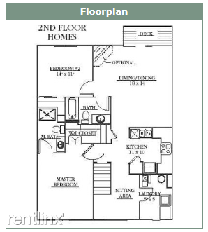 2nd floor condo floorplan