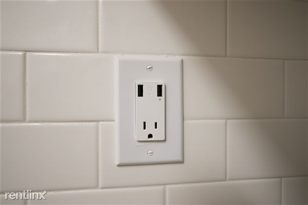 Updated outlets with USB cord connections